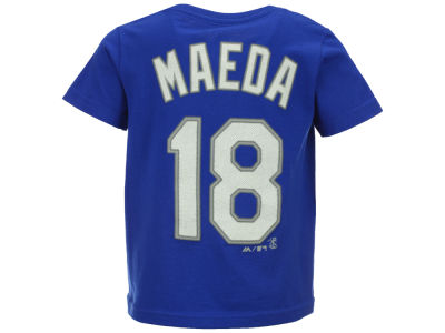 Los Angeles Dodgers Kenta Maeda MLB Toddler Official Player T-Shirt