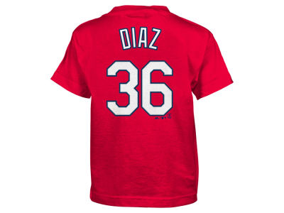 St. Louis Cardinals Aledmys Diaz Majestic MLB Kids Official Player T-Shirt