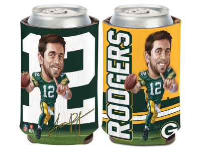 Green Bay Packers Aaron Rodgers Caricature Coozie