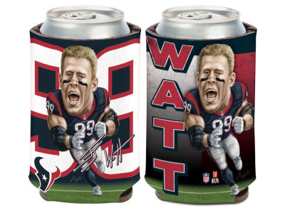 Houston Texans J. J. Watt Caricature Coozie