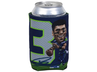 Seattle Seahawks Russell Wilson Caricature Coozie