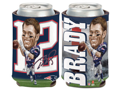 New England Patriots Tom Brady Caricature Coozie