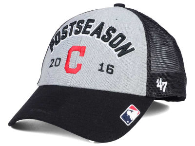 Cleveland Indians '47 MLB 2016 Post Season Locker Room Cap