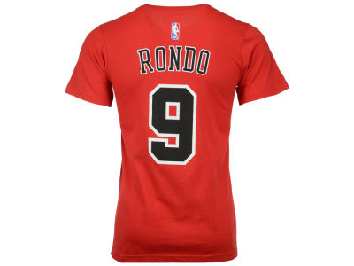 Chicago Bulls Rajon Rondo  adidas NBA Men's Player T-Shirt