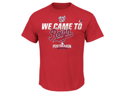 Washington Nationals MLB Men's Postseason Participant T-Shirt