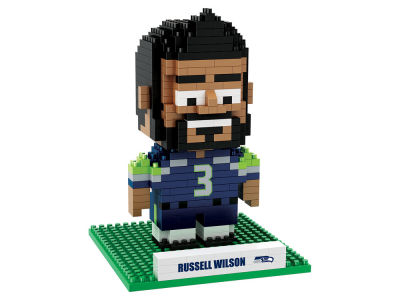 Seattle Seahawks Russell Wilson BRXLZ 3D Player Puzzle