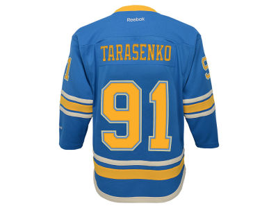 St. Louis Blues Vladimir Tarensenko NHL Youth 2017 Winter Classic Premier Player Jersey