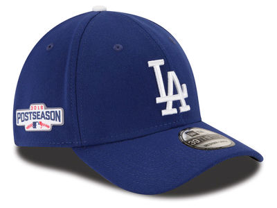 Los Angeles Dodgers New Era MLB 2016 Post Season Patch 39THIRTY Cap