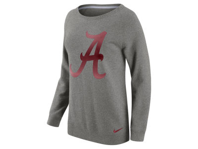 Alabama Crimson Tide Nike NCAA Women's Champ Drive Boyfriend Crew Sweatshirt