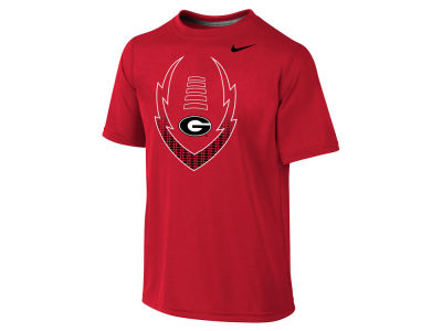Georgia Bulldogs Nike NCAA Youth Legend Football Icon T-Shirt