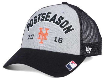 New York Mets '47 MLB 2016 Post Season Locker Room Cap