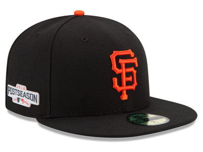 San Francisco Giants New Era MLB 2016 Post Season Authentic Collection Patch 59FIFTY Cap