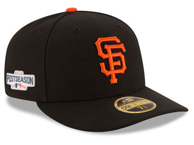 San Francisco Giants Low Profile New Era MLB 2016 Post Season Authentic Collection Patch 59FIFTY Cap