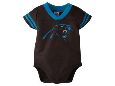 Carolina Panthers NFL Newborn Dazzle Mesh Creeper
