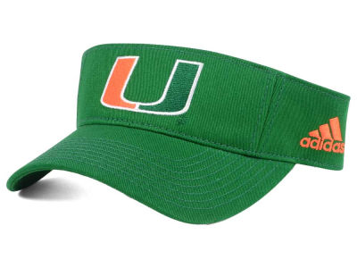 Miami Hurricanes adidas NCAA Basic TC Visor