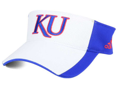 Kansas Jayhawks adidas NCAA Train Me Visor