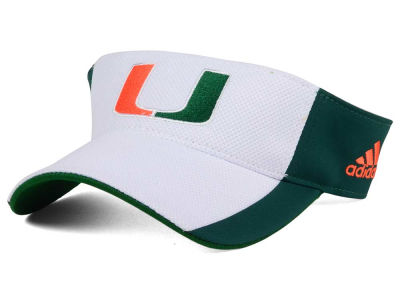 Miami Hurricanes adidas NCAA Train Me Visor