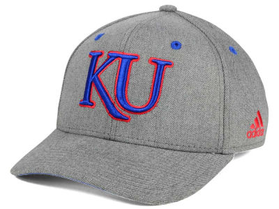 Kansas Jayhawks adidas NCAA Rocky Adjustable Cap