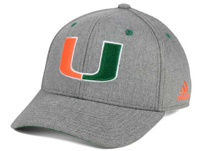 Miami Hurricanes adidas NCAA Rocky Adjustable Cap