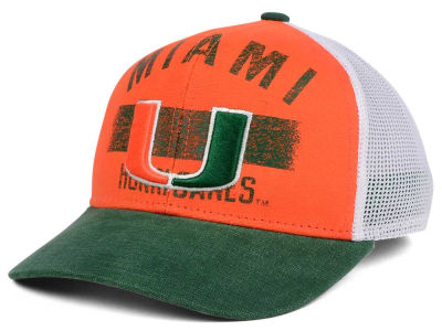 Miami Hurricanes adidas NCAA Sunshine Trucker Cap