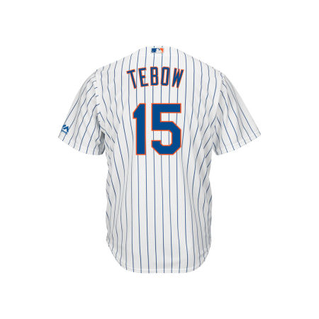New York Mets Tim Tebow Majestic MLB Men's Player Replica Cool Base Jersey