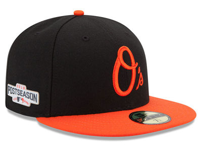 Baltimore Orioles New Era MLB 2016 Post Season Authentic Collection Patch 59FIFTY Cap