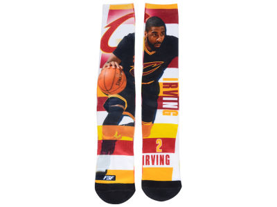 Cleveland Cavaliers Kyrie Irving For Bare Feet NBA Pro Stripe Player 308S Crew Sock
