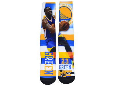 Golden State Warriors Draymond Green NBA Pro Stripe Player 308S Crew Sock