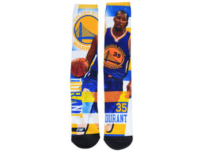Golden State Warriors Kevin Durant NBA Pro Stripe Player 308S Crew Sock