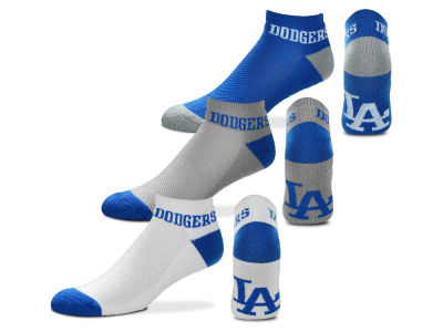Los Angeles Dodgers For Bare Feet Money No Show Sock - 3pk