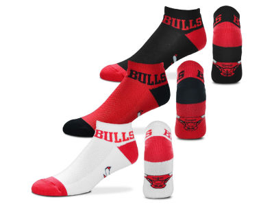 Chicago Bulls Money No Show Sock - 3pk