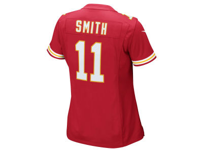 Kansas City Chiefs Alex Smith Nike NFL Women's Game Jersey