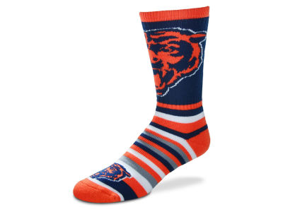 Chicago Bears For Bare Feet Lotta Stripe Crew Sock
