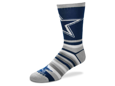 Dallas Cowboys Lotta Stripe Crew Sock
