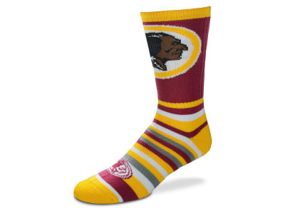 Washington Redskins Lotta Stripe Crew Sock