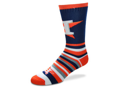Houston Astros Lotta Stripe Crew Sock