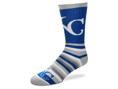 Kansas City Royals Lotta Stripe Crew Sock