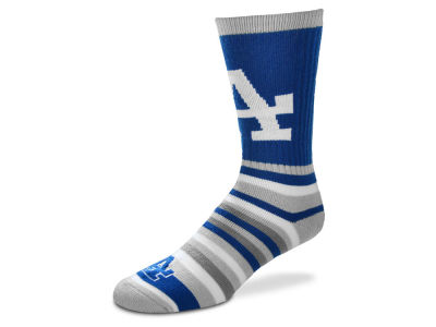 Los Angeles Dodgers For Bare Feet Lotta Stripe Crew Sock