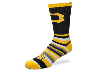 Pittsburgh Pirates For Bare Feet Lotta Stripe Crew Sock