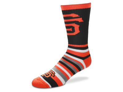 San Francisco Giants For Bare Feet Lotta Stripe Crew Sock