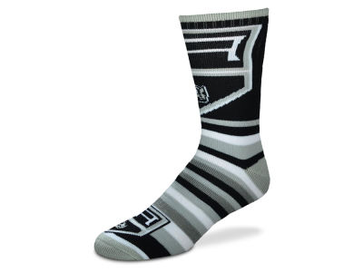 Los Angeles Kings For Bare Feet Lotta Stripe Crew Sock