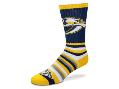 Nashville Predators Lotta Stripe Crew Sock