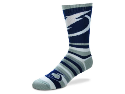Tampa Bay Lightning For Bare Feet Lotta Stripe Crew Sock