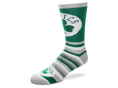 Boston Celtics Lotta Stripe Crew Sock