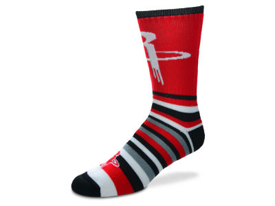 Houston Rockets Lotta Stripe Crew Sock