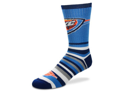 Oklahoma City Thunder Lotta Stripe Crew Sock