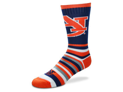 Auburn Tigers Lotta Stripe Crew Sock