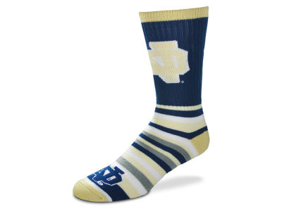Notre Dame Fighting Irish Lotta Stripe Crew Sock