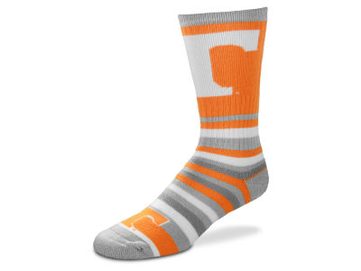 Tennessee Volunteers For Bare Feet Lotta Stripe Crew Sock
