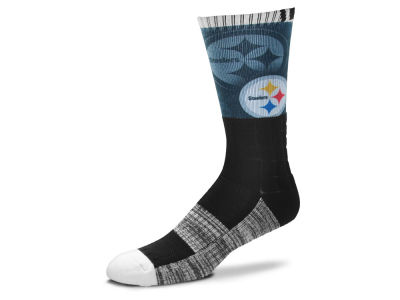 Pittsburgh Steelers Blackout Crew Socks